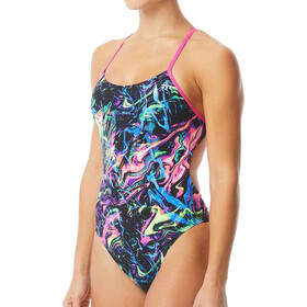 TYR Pink Penello Cutoutfit Swimsuit Women multi